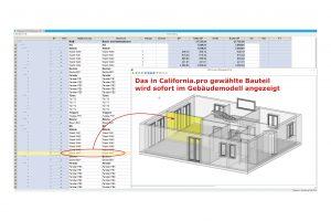 California.pro erzeugt im BIM-Prozess aus dem digitalen das kaufmännische Gebäudemodell