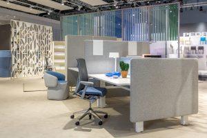 """Vielseitig und flexibel: die Büromöbellinie """"YourPlace"""" von Haworth"""