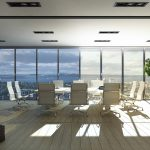 Verschattung mit freier Sicht nach draußen: Mit den optimierten ECONTROL-Gläsern bleiben die Räume blendfrei, verschattet und taghell.