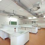 Auch Labore sind in den Modulen untergebracht.