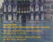 BDA-Matinée und Fest zur Biennale in Venedig
