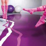 Individueller Bodenentwurf von Arturo Studio für eine physiotherapeutische Praxis.
