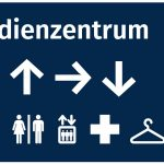 Zielführung an Lern- und Arbeitsorten  Wettbewerbsentwurf eines Leitsystems für ein Universitätsbibliotheksgebäude in Marburg, 2. Preis