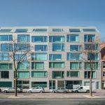 """Gussglas im Amsterdamer """"The Double"""" von Wiel Arets Architekten"""