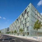 Der neue und zugleich zweite Dienstsitz des Bundesministeriums für Bildung und Forschung in Berlin erfüllt höchste Nachhaltigkeitskriterien – auch in Bezug auf die Aufenthaltsqualität.