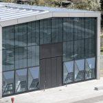 """Prototyp und architektonischer Blickfang: die Anfang März auf dem Campus """"Lichtwiese"""