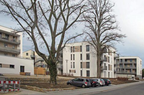 Neubau südlich des Fliednerplatzes