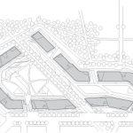 Lageplan M 1:2500 Die Wohnresidenzen sind Teil des Mailänder Großprojekts CityLife - eines ganzheitlichen Konzeptes, das die Funktionen Wohnen, Arbeiten und Einkaufen mit Grünflächen und öffentlichen Plätzen miteinander verbindet.
