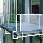 Balkonrandprofile und -rinnen