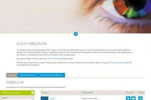 Mit dem innovativen und einfach zu bedienenden Online-Tool Knauf Farbcenter lässt sich schnell und einfach die Machbarkeit von über 70.000 Farbtönen ermitteln.