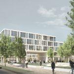 EIN ARCHITEKTONISCHES AUSRUFEZEICHEN FÜR BERLIN-ADLERSHOF: CAMPUS-HOTEL UND OFFICELAB-CAMPUS ADLERSHOF