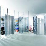 Die UTS-Trennwände sind als Baukastensystem konzipiert und eignen sich vor allem dafür, Keller und Dachböden abzuteilen.