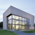 Das Seminargebäude ist das erste Gebäude, das auf dem Campus der Justus-Liebig-Universität fertiggestellt wurde.