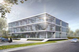 Verwaltungsgebäude der ATP GmbH in Göppingen