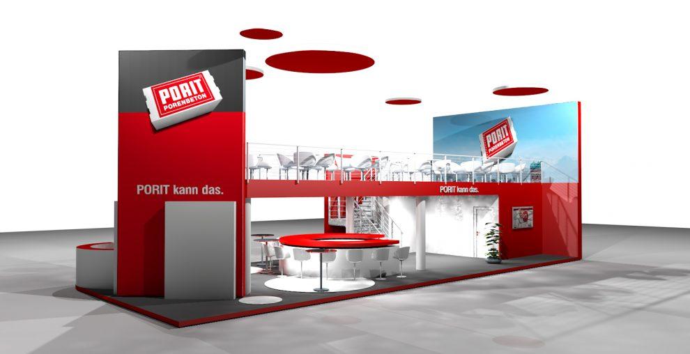"""PORBau2017 PORIT GmbH auf der BAU 2017 – A2.303 – Bauen mit """"Leichtigkeit""""."""