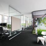 Das IdeenReich vereint Rückzug und Offenheit in einer Bürolandschaft.