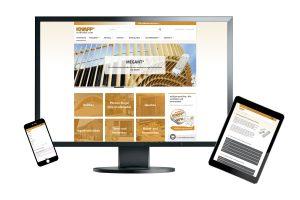 Neue Webseite bei Knapp