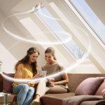 Ein regelmäßiger Austausch verbrauchter Luft ist wichtig, um das Risiko der Schimmelbildung im Wohnraum zu reduzieren.