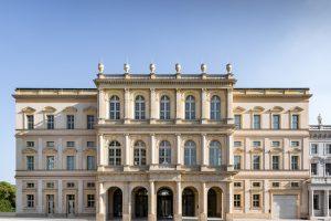 Nach vier Jahren Bauzeit wurde das Museum Barberini in Potsdam am 20. Januar 2017 im Beisein von Bundeskanzlerin Angela Merkel feierlich eröffnet.