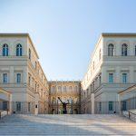 Insgesamt 2.200 m² Ausstellungsfläche auf drei Geschossen umfasst das Museum Barberini. Abb.: Rückansicht;