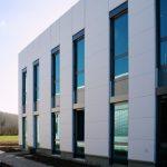 Neubau eines Büro- und Verwaltungsgebäude für die Fa. Technogel Germany in Berlingerode mit Freianlagenkonzept