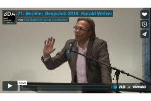 Pérez-Gómez, Hertzberger, Welzer: Videodokumentationen von BDA-Veranstaltungen online
