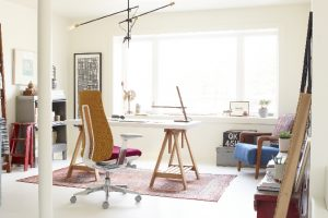 Das Home Office bietet die Möglichkeit, Berufs- und Familienleben besser zu koordinieren.