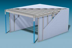 Knauf Cubo Plus: Mehr Möglichkeiten durch den Einsatz moderner Stahl-Leichtbau-Technologie