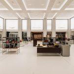 Die umfassende Modernisierung des traditionsreichen ALSTERHAUS-Kaufhauses in Hamburg stand auch hinsichtlich des Interieurs unter den Vorzeichen zeitgemäßer und luxusorientierter Premium-Ambitionen