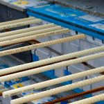 Combar-Stäbe sind leichter als Stahl, sehr zugfest und haben eine sehr gute Korrosionsbeständigkeit.