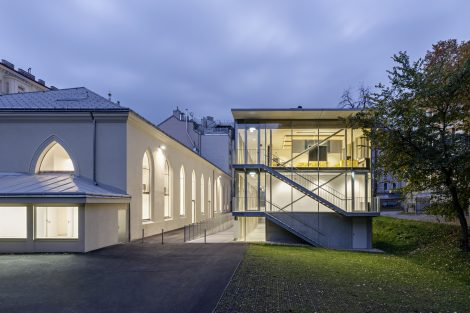 Neubau Lycée Français de Vienne und Umbau Studio Molière
