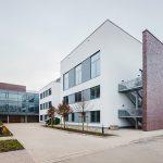 Campusgebäude am Standort Johannes Wesling Klinikum Minden