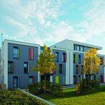 Klimabewusst wohnen auf 3-Liter-Haus-Niveau: Die Klimaschutzsiedlung in Mönchengladbach verbindet bauliche und anlagentechnische Maßnahmen zu einem zukunftsweisenden Gesamtkonzept.