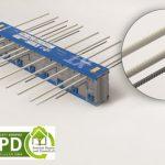 Mit der Komponentenzertifizierung des Passivhaus Instituts sowie der Umwelt-Produktdeklaration EPD können sich Architekten, Planer und Bauherren beim Isokorb XT-Combar auf transparente, geprüfte Ökobilanz-Daten verlassen.