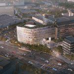 Schüco erweitert seine bestehende Unternehmenszentrale in Bielefeld: Der durch das Architekturbüro 3XN geplante Neubau wird mit eigenen Schüco Systemlösungen realisiert und mit der bisherigen Unternehmenszentrale verbunden.