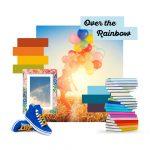 Over the Rainbow   Auszug aus der Social Media Kampagne von Pfleiderer