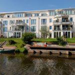 In exklusiver Wohnlage entstanden in Lübeck Stadtwohnungen von hoher Qualität. Außen- und Innenwände wurden mit Silka Kalksandsteinerstellt.