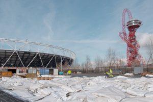 Serge Ferrari wurde 2012 als Materiallieferant für die Überdachung des Olympiastadions in London ausgewählt: Ausschlaggebend war das Konzept zur Demontage und anschließendem Recycling