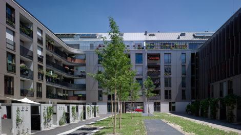 Wohnanlage 3 Höfe München