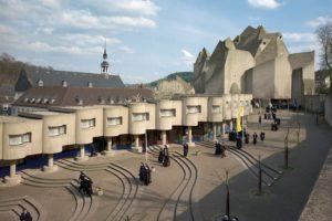 Ansicht des Beton-Dom von Nerviges
