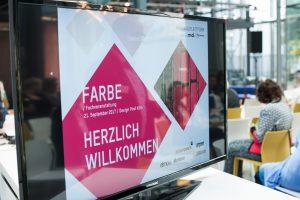 md FARBE, Köln: Sinnesreize