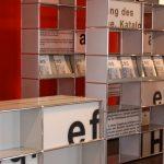 Die Ausstellung bei Wohnhaus Sengfelder zeigt, wie Form, Farbe und Funktion der USM Möbelbausysteme verschiedensten Ansprüchen gerecht werden.