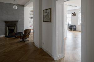 Altbauwohnung in Berlin Mitte und SEHW