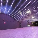 X-LED Lichtdecke am WCCB Bonn