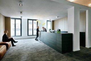 innenraumgestaltung berlin b ro f r einen projektentwickler. Black Bedroom Furniture Sets. Home Design Ideas