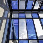 Innenansicht des Atriums