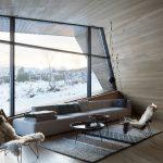 Höchste Standards bei der Wärmeisolation der Schüco Fassaden- und Türsysteme ermöglichen auch in dieser kalten Region Norwegens eine transparente Fassadengestaltung (Schüco FW 50+.SI).