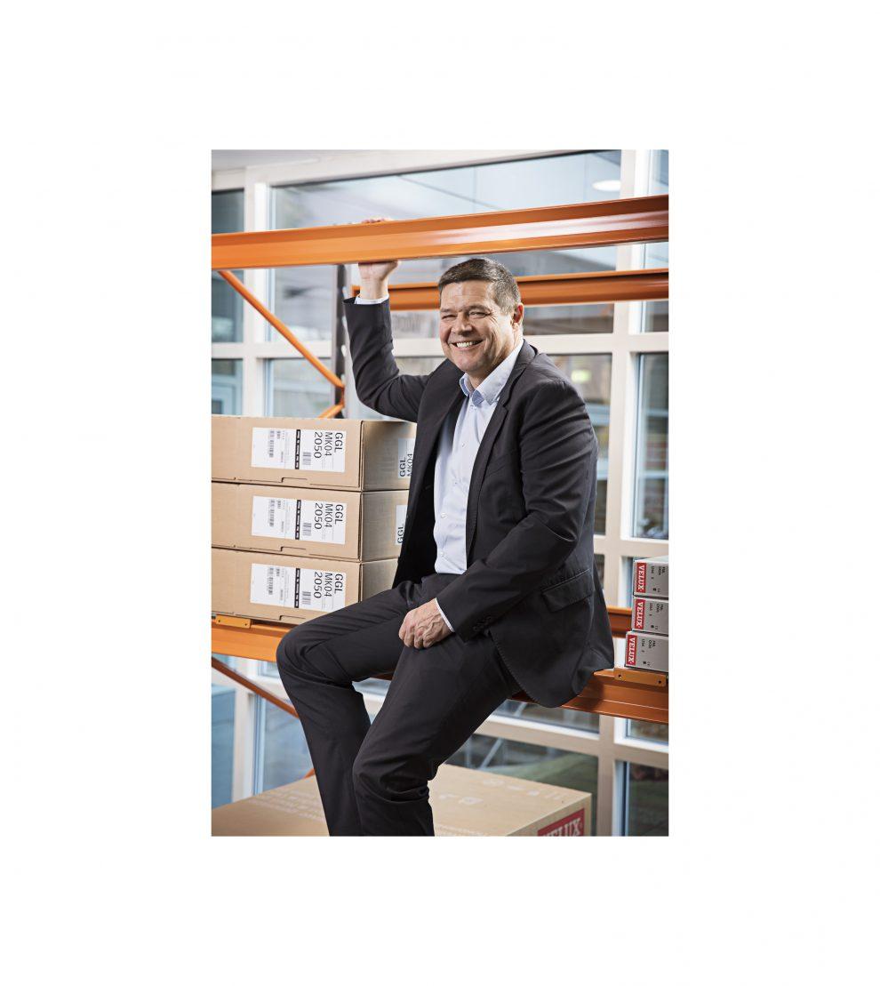 David Briggs ist neuer CEO der Velux Gruppe.