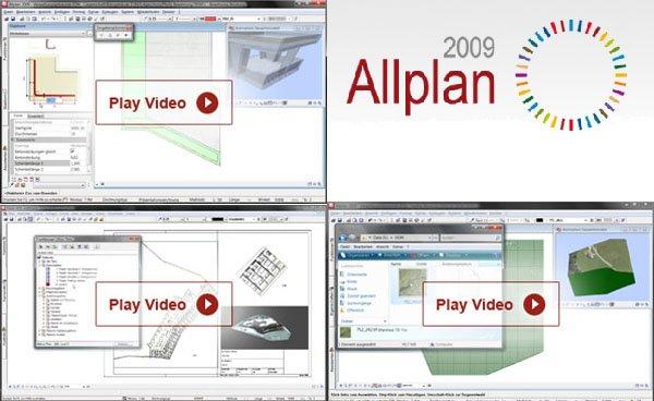 Allplan 2009 - Das neue Release für Architekten, Bauingenieure und Bauunternehmen. Steigern Sie jetzt Ihre Effizienz!