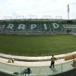 Bild 13     Das neue Allianz Stadion in Wien ist die Heimat des österreichischen Meisters SK Rapid und bereits eine Landmarke der Hauptstadt. Vom spektakulären Abriss der alten Tribünen bis hin zur erstmaligen exklusiven Öffnung des Stadions für die Rapid